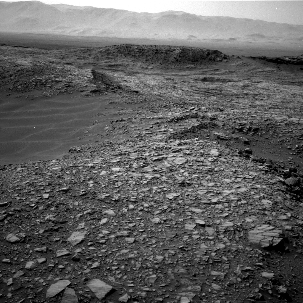 Nasa's Mars rover Curiosity acquired this image using its Right Navigation Camera on Sol 1387, at drive 1420, site number 55