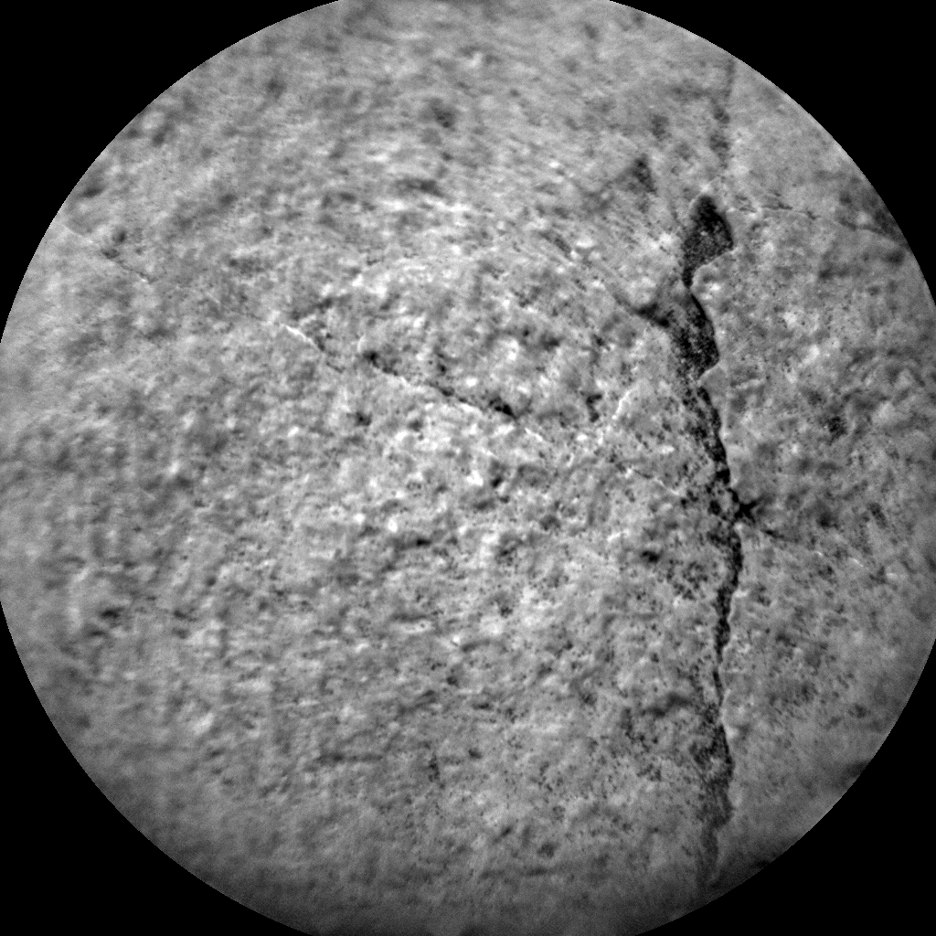 Nasa's Mars rover Curiosity acquired this image using its Chemistry & Camera (ChemCam) on Sol 1387, at drive 1336, site number 55
