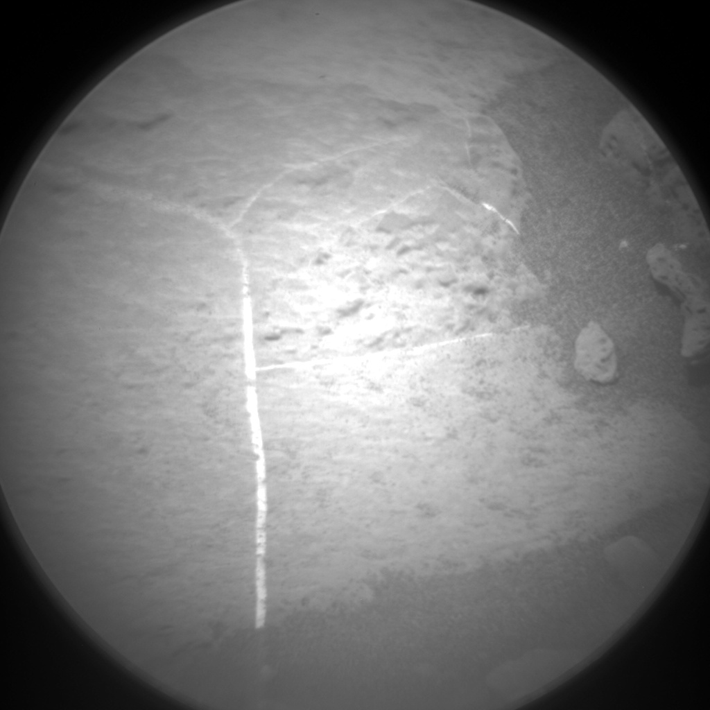 Nasa's Mars rover Curiosity acquired this image using its Chemistry & Camera (ChemCam) on Sol 1398, at drive 1420, site number 55