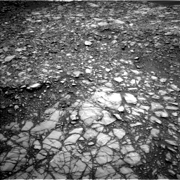 Nasa's Mars rover Curiosity acquired this image using its Left Navigation Camera on Sol 1398, at drive 1438, site number 55