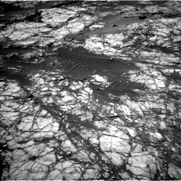 Nasa's Mars rover Curiosity acquired this image using its Left Navigation Camera on Sol 1398, at drive 1582, site number 55