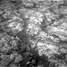 Nasa's Mars rover Curiosity acquired this image using its Left Navigation Camera on Sol 1398, at drive 1714, site number 55