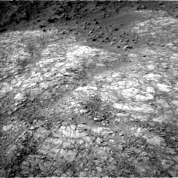Nasa's Mars rover Curiosity acquired this image using its Left Navigation Camera on Sol 1398, at drive 1774, site number 55