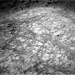 Nasa's Mars rover Curiosity acquired this image using its Left Navigation Camera on Sol 1398, at drive 1804, site number 55