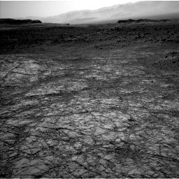 Nasa's Mars rover Curiosity acquired this image using its Left Navigation Camera on Sol 1398, at drive 1810, site number 55