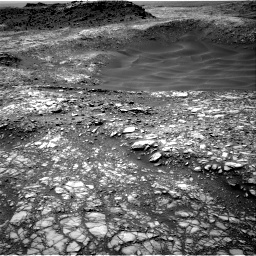 Nasa's Mars rover Curiosity acquired this image using its Right Navigation Camera on Sol 1398, at drive 1486, site number 55