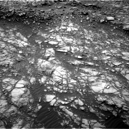 Nasa's Mars rover Curiosity acquired this image using its Right Navigation Camera on Sol 1398, at drive 1510, site number 55