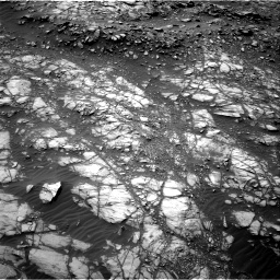 Nasa's Mars rover Curiosity acquired this image using its Right Navigation Camera on Sol 1398, at drive 1516, site number 55