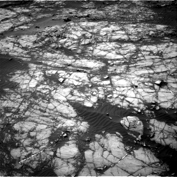 Nasa's Mars rover Curiosity acquired this image using its Right Navigation Camera on Sol 1398, at drive 1570, site number 55