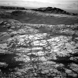 Nasa's Mars rover Curiosity acquired this image using its Right Navigation Camera on Sol 1398, at drive 1588, site number 55