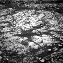 Nasa's Mars rover Curiosity acquired this image using its Right Navigation Camera on Sol 1398, at drive 1594, site number 55