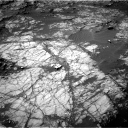 Nasa's Mars rover Curiosity acquired this image using its Right Navigation Camera on Sol 1398, at drive 1630, site number 55
