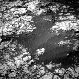 Nasa's Mars rover Curiosity acquired this image using its Right Navigation Camera on Sol 1398, at drive 1648, site number 55
