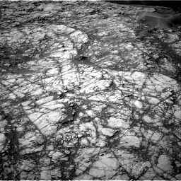 Nasa's Mars rover Curiosity acquired this image using its Right Navigation Camera on Sol 1398, at drive 1684, site number 55