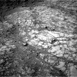 Nasa's Mars rover Curiosity acquired this image using its Right Navigation Camera on Sol 1398, at drive 1744, site number 55