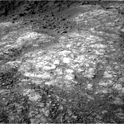 Nasa's Mars rover Curiosity acquired this image using its Right Navigation Camera on Sol 1398, at drive 1768, site number 55