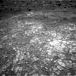 Nasa's Mars rover Curiosity acquired this image using its Left Navigation Camera on Sol 1399, at drive 2074, site number 55