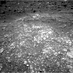 Nasa's Mars rover Curiosity acquired this image using its Left Navigation Camera on Sol 1399, at drive 2080, site number 55