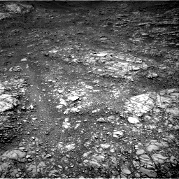 Nasa's Mars rover Curiosity acquired this image using its Right Navigation Camera on Sol 1399, at drive 1978, site number 55