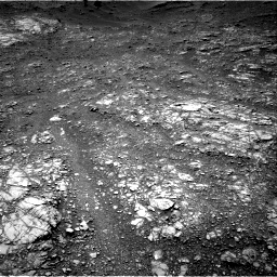 Nasa's Mars rover Curiosity acquired this image using its Right Navigation Camera on Sol 1399, at drive 1984, site number 55