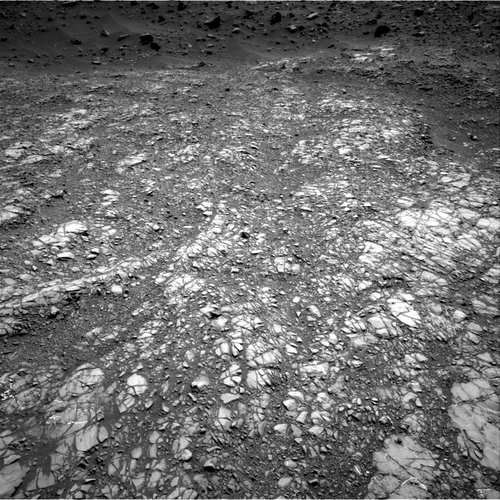 Nasa's Mars rover Curiosity acquired this image using its Right Navigation Camera on Sol 1399, at drive 2068, site number 55