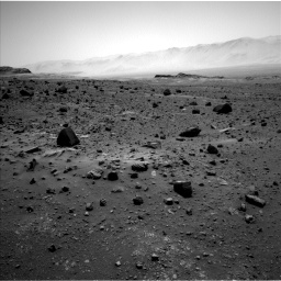 Nasa's Mars rover Curiosity acquired this image using its Left Navigation Camera on Sol 1400, at drive 2188, site number 55