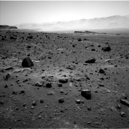Nasa's Mars rover Curiosity acquired this image using its Left Navigation Camera on Sol 1400, at drive 2194, site number 55