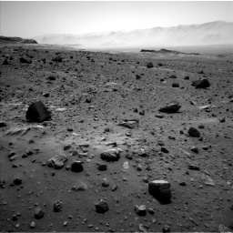 Nasa's Mars rover Curiosity acquired this image using its Left Navigation Camera on Sol 1400, at drive 2200, site number 55