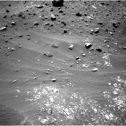 Nasa's Mars rover Curiosity acquired this image using its Right Navigation Camera on Sol 1400, at drive 2140, site number 55