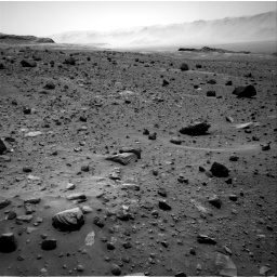 Nasa's Mars rover Curiosity acquired this image using its Right Navigation Camera on Sol 1400, at drive 2206, site number 55