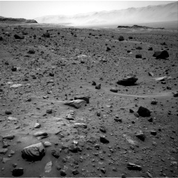 Nasa's Mars rover Curiosity acquired this image using its Right Navigation Camera on Sol 1400, at drive 2212, site number 55