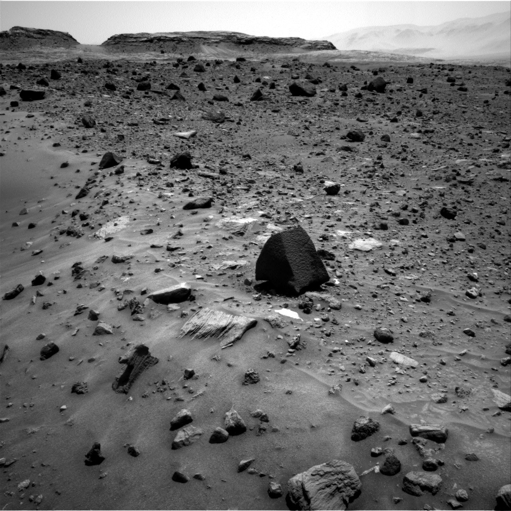 NASA's Mars rover Curiosity acquired this image using its Right Navigation Cameras (Navcams) on Sol 1400