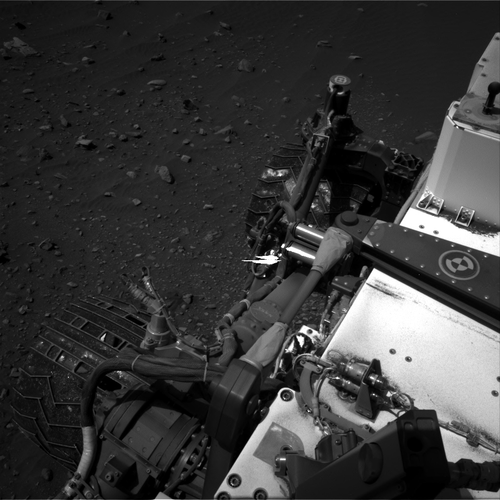 Nasa's Mars rover Curiosity acquired this image using its Right Navigation Camera on Sol 1400, at drive 2222, site number 55
