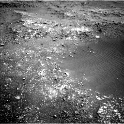 Nasa's Mars rover Curiosity acquired this image using its Left Navigation Camera on Sol 1401, at drive 2240, site number 55
