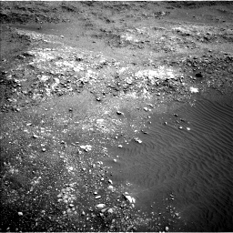 Nasa's Mars rover Curiosity acquired this image using its Left Navigation Camera on Sol 1401, at drive 2246, site number 55