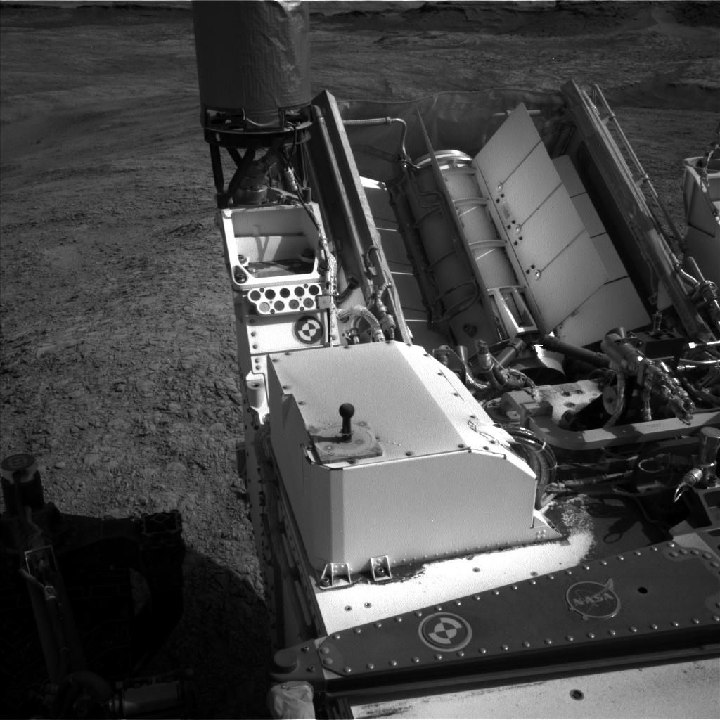 Nasa's Mars rover Curiosity acquired this image using its Left Navigation Camera on Sol 1401, at drive 2444, site number 55