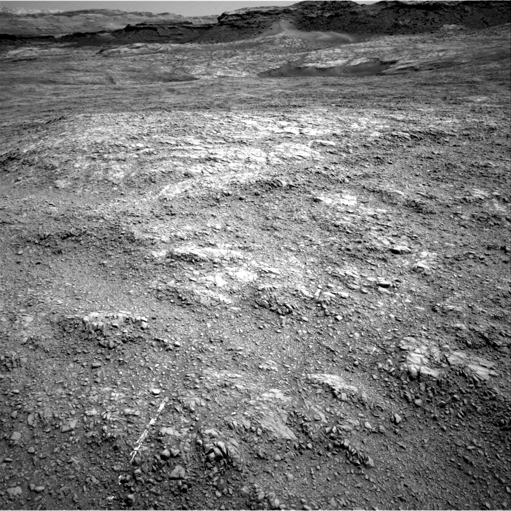 Nasa's Mars rover Curiosity acquired this image using its Right Navigation Camera on Sol 1401, at drive 2390, site number 55