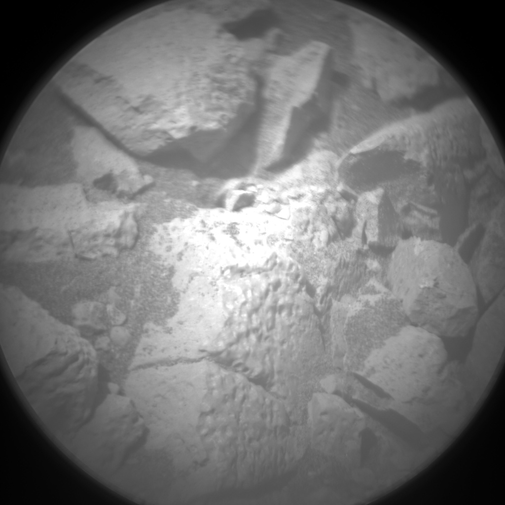 Nasa's Mars rover Curiosity acquired this image using its Chemistry & Camera (ChemCam) on Sol 1402, at drive 2444, site number 55
