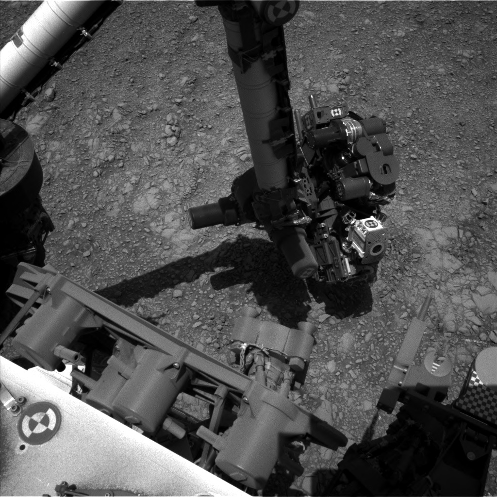 Nasa's Mars rover Curiosity acquired this image using its Left Navigation Camera on Sol 1405, at drive 2444, site number 55