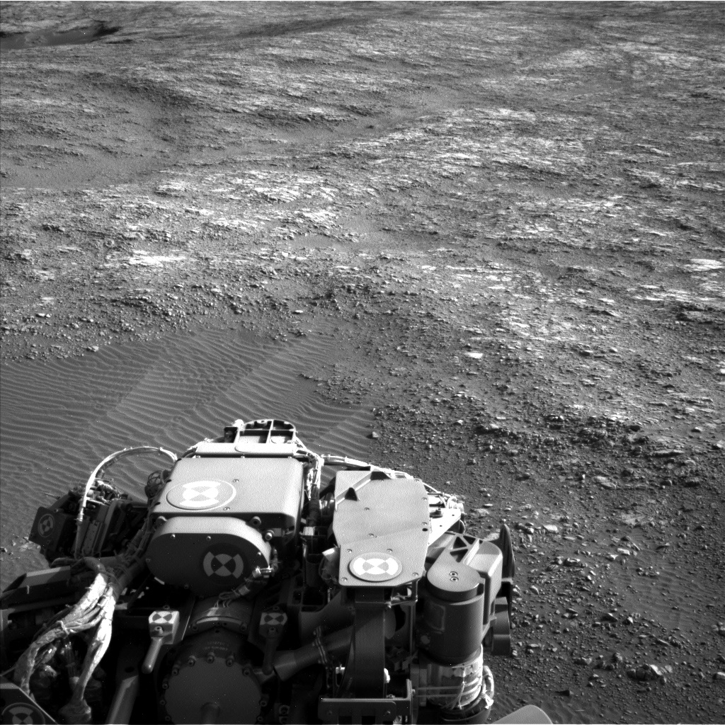 Nasa's Mars rover Curiosity acquired this image using its Left Navigation Camera on Sol 1405, at drive 2600, site number 55