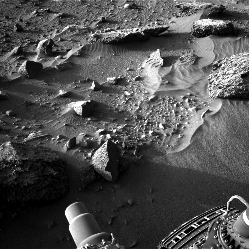Nasa's Mars rover Curiosity acquired this image using its Left Navigation Camera on Sol 1405, at drive 0, site number 56