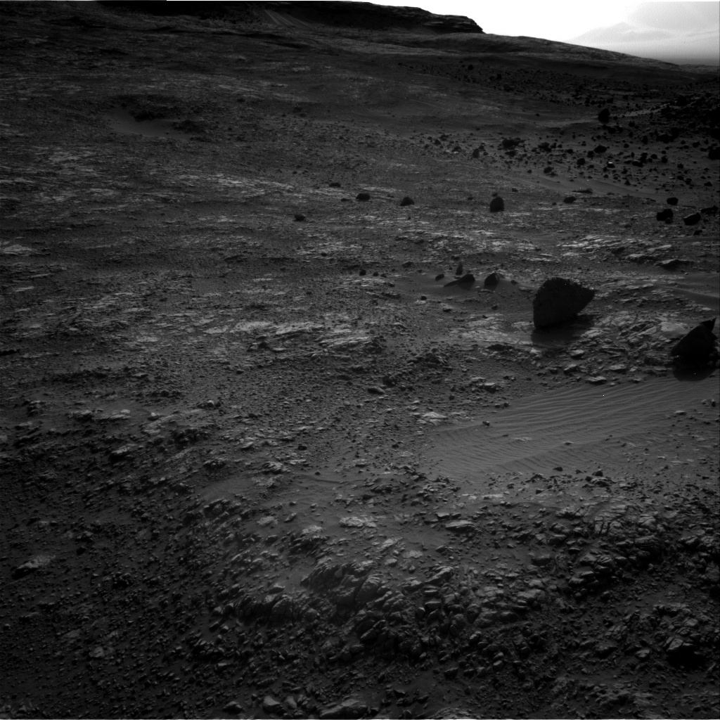 Nasa's Mars rover Curiosity acquired this image using its Right Navigation Camera on Sol 1405, at drive 2600, site number 55
