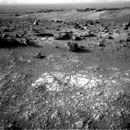 Nasa's Mars rover Curiosity acquired this image using its Right Navigation Camera on Sol 1405, at drive 2612, site number 55