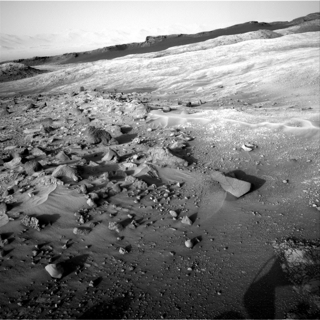 NASA's Mars rover Curiosity acquired this image using its Right Navigation Cameras (Navcams) on Sol 1405