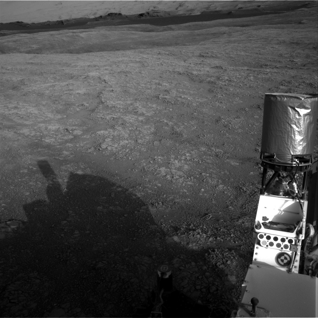 Nasa's Mars rover Curiosity acquired this image using its Right Navigation Camera on Sol 1405, at drive 0, site number 56