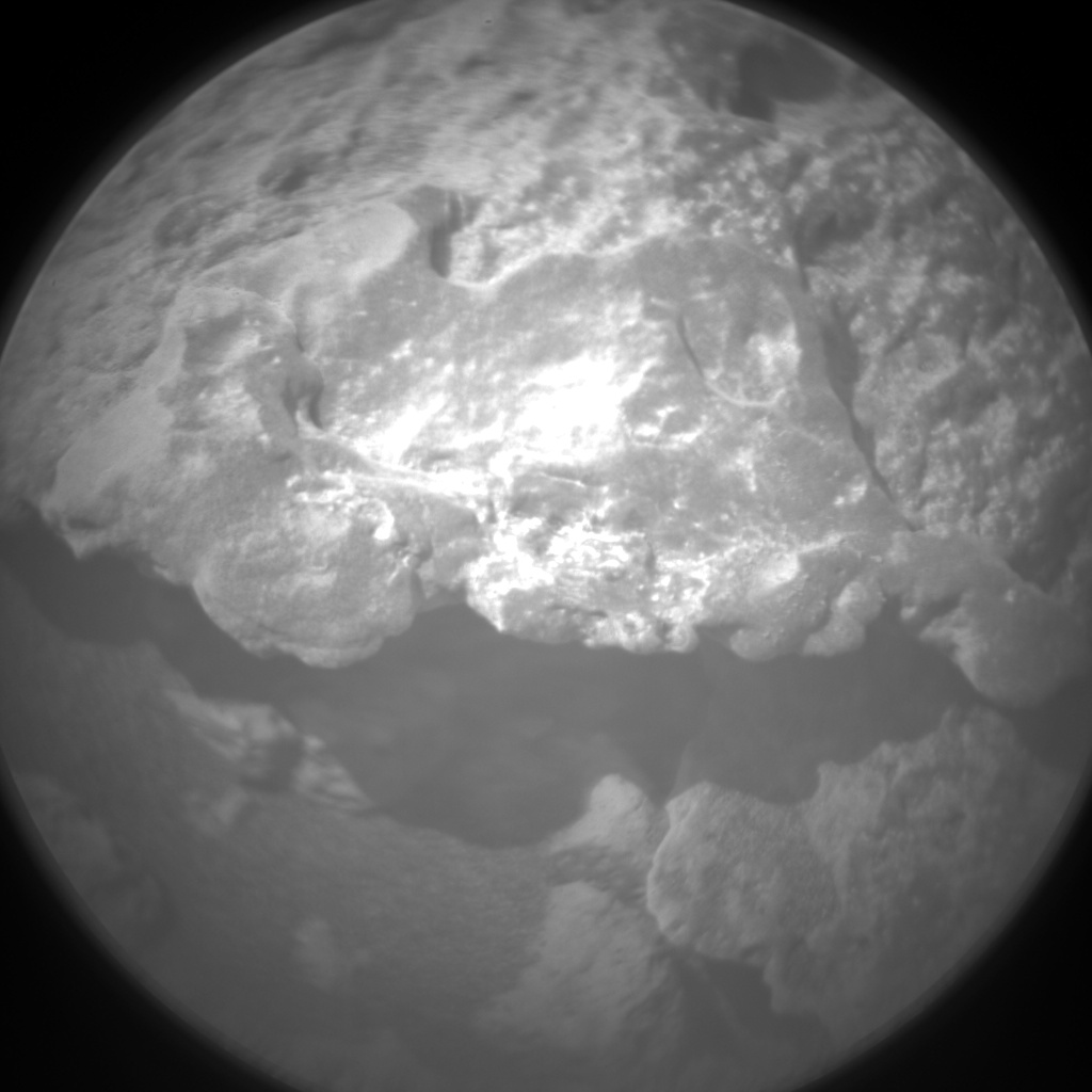 Nasa's Mars rover Curiosity acquired this image using its Chemistry & Camera (ChemCam) on Sol 1406, at drive 0, site number 56