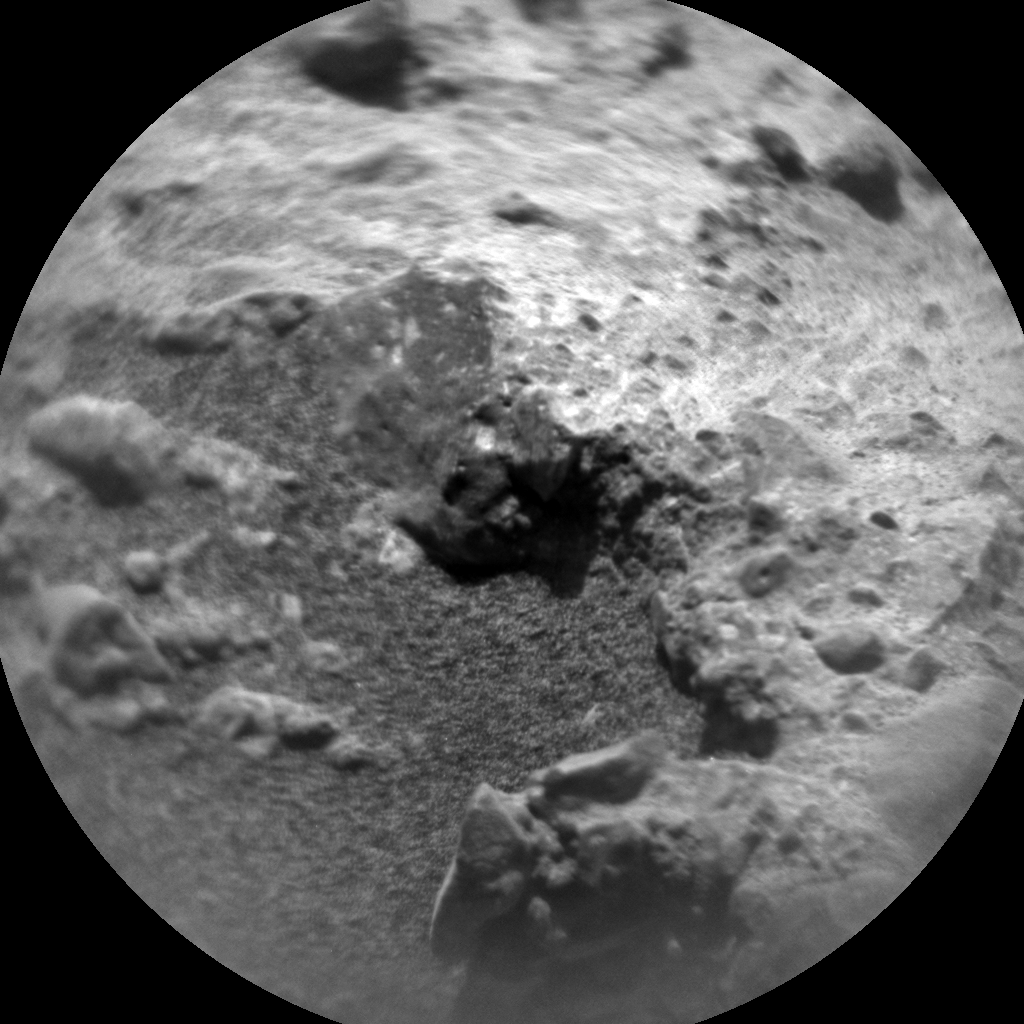 Nasa's Mars rover Curiosity acquired this image using its Chemistry & Camera (ChemCam) on Sol 1407, at drive 0, site number 56