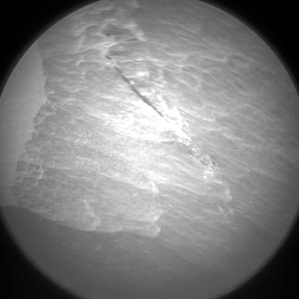 Nasa's Mars rover Curiosity acquired this image using its Chemistry & Camera (ChemCam) on Sol 1409, at drive 0, site number 56