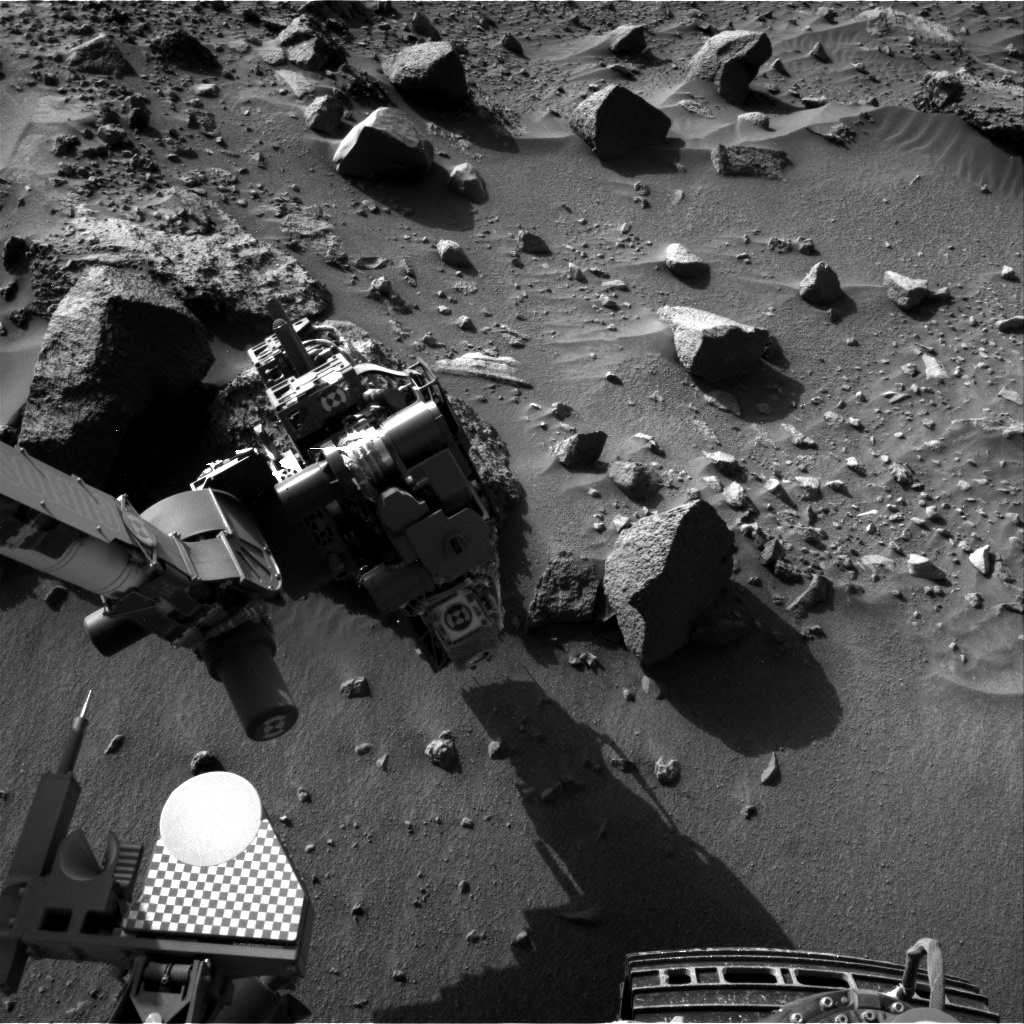 Nasa's Mars rover Curiosity acquired this image using its Right Navigation Camera on Sol 1409, at drive 0, site number 56