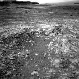 Nasa's Mars rover Curiosity acquired this image using its Left Navigation Camera on Sol 1410, at drive 384, site number 56